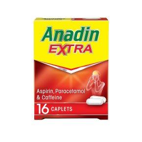 Anadin Extra Caplets 16 Pack