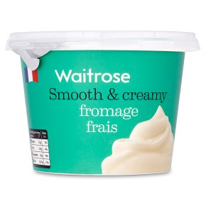 Waitrose French natural fromage frais