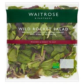 Waitrose wild rocket salad