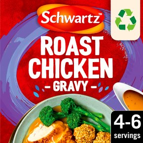 Schwartz classic gravy mix roast chicken