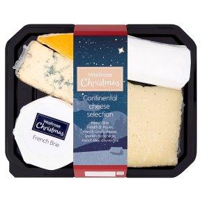 Waitrose Christmas Continental Cheese Selection