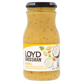 Loyd Grossman korma curry sauce