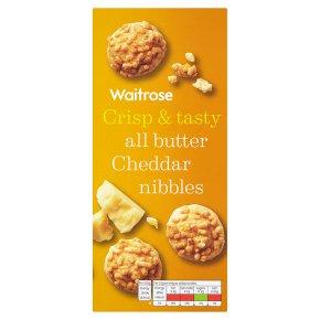 Waitrose cheddar cheese nibbles
