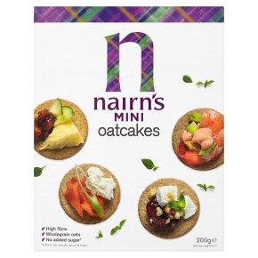 Nairn's oatcakes mini