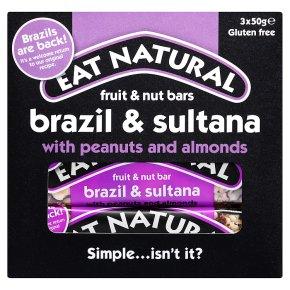 Eat Natural Fruit & Nut Bars Brazil & Sultana