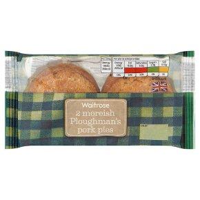 Waitrose 2 Ploughman's Pork Pies
