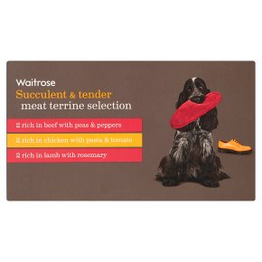 Waitrose special variety selection dog food