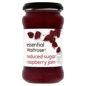 Waitrose reduced sugar raspberry jam