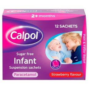 Calpol sugar free 5ml sachets