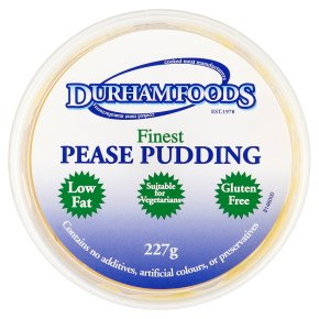 Durham Foods finest pease pudding