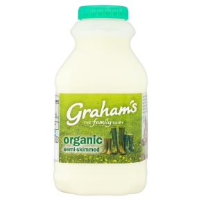 Graham's organic semi-skimmed Scottish milk