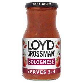 Loyd Grossman bolognese pasta sauce