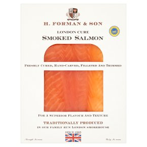 H.Forman & son smoked Scottish salmon