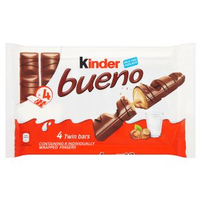 Kinder bueno milk and hazelnut