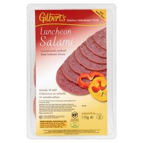 Kosher Gilbert's luncheon salami