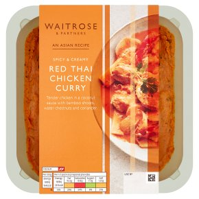 Waitrose Asian Red Thai Chicken Curry