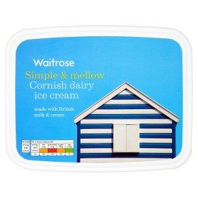 Waitrose vanilla Cornish dairy ice cream