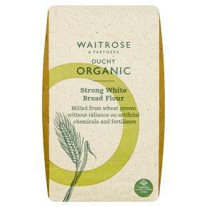 Waitrose Duchy Organic strong white bread flour