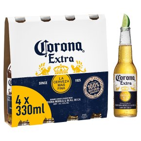 Corona Extra Mexican beer imported