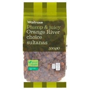 Waitrose sultanas orange river