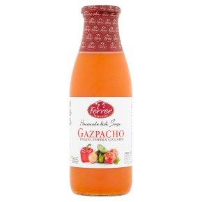Ferrer Gazpacho tomato pepper & cucumber soup