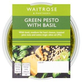 Waitrose green basil pesto