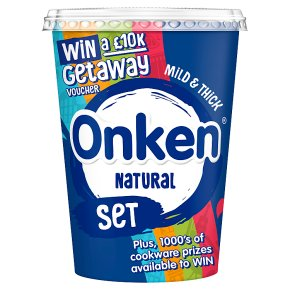 Onken natural set yogurt