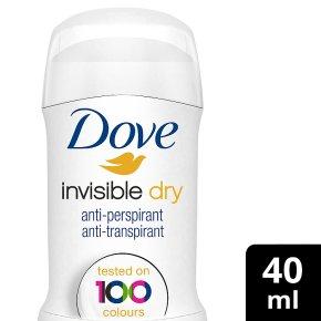Dove invisible dry stick anti-perspirant deodorant