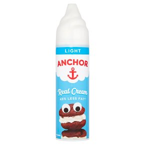 Anchor real dairy cream UHT light aerosol