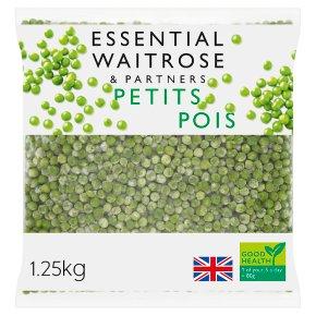 essential Waitrose Petits Pois