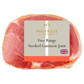 Waitrose smoked British free range gammon joint