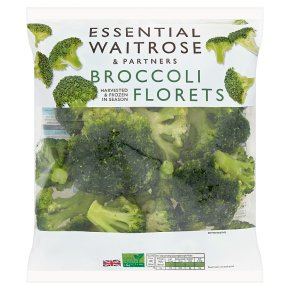 essential Waitrose broccoli florets