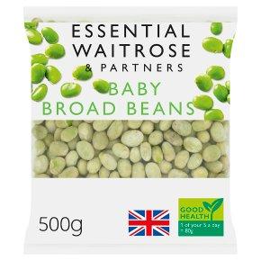 essential Waitrose baby broad beans