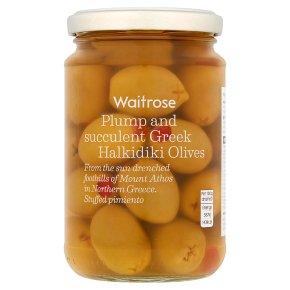 Waitrose olives stuffed with pimento