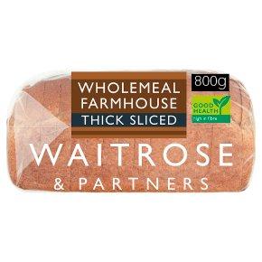 Waitrose Wholemeal Farmhouse Thick