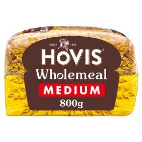 Hovis wholemeal bread medium sliced bread