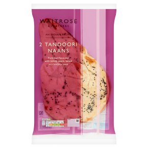 Waitrose Indian 2 Tandoori Naans