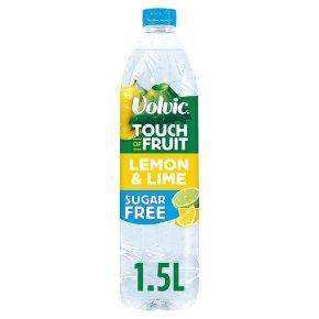 Volvic sugar free touch of fruit lemon & lime