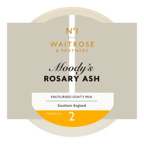 Waitrose 1 moody's rosary ash goats cheese, UK