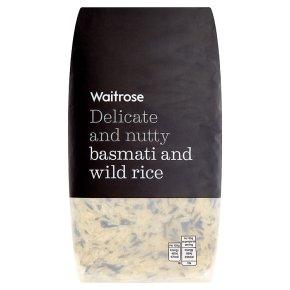Waitrose basmati & wild rice