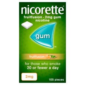 Nicorette Fruitfusion 2mg Gum 105s