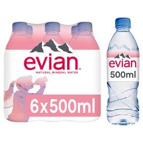 Evian still mineral water