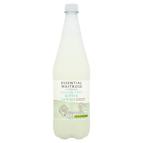 essential Waitrose sugar free bitter lemon juice