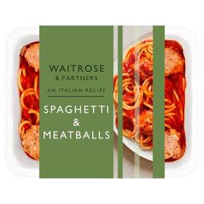 Waitrose Italian Spaghetti & Meatballs