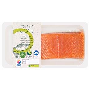 Waitrose Duchy Organic Originals 2 salmon fillets