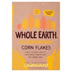 Whole Earth organic corn flakes