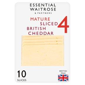 Essential Mature Sliced 10s Cheddar Strength 4