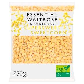 Essential Waitrose supersweet sweetcorn