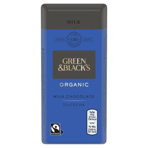 Green & Black's organic milk chocolate bar