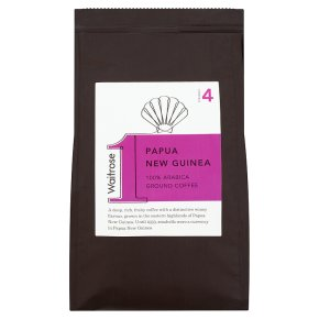 Waitrose 1 Papua New Guinea 100% arabica ground coffee